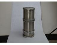 永磁筒在耐火材料厂使用的范例